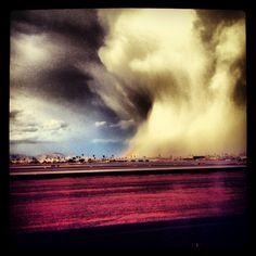 Crazy Phoenix snow storm!!