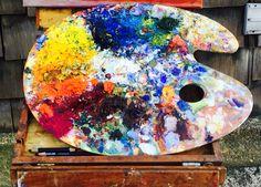 Colors in art