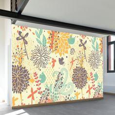 Fantastically Floral Wall Mural - WallsNeedLove