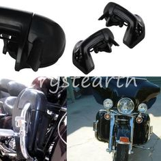 186.00$  Watch here - http://alixd8.worldwells.pw/go.php?t=32337864519 - Motorcycle Lower Vented Leg Fairings Kit For Harley Davidson Touring Road King Electra Glide FLHT 186.00$