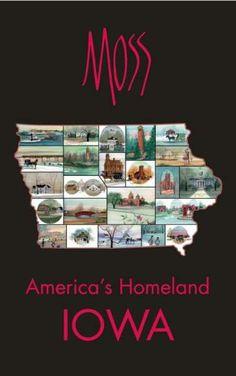 Iowa/America's Homeland   poster by P. Buckley Moss