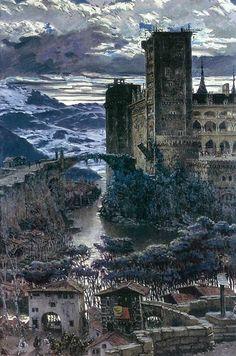 Jose Benlliure y Gil (1855-1937)El Castillo.