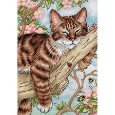DIMENSIONS-The Gold Collection: Counted Cross Stitch.  The Gold Collection Kits are wonderfully detailed with full and half cross stitches.  Kit includes: 18 count white Aida; cotton thread; needle and easy instructions.