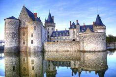 Castle of Sully-sur-Loire, France, Loire