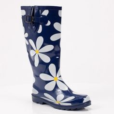 happy making :: Daisy Rain Boot