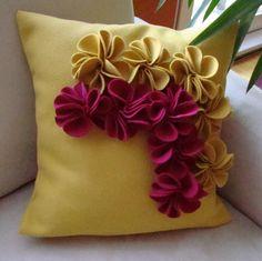 Almohadas decorativas en pinterest - Cojines hechos a mano ...