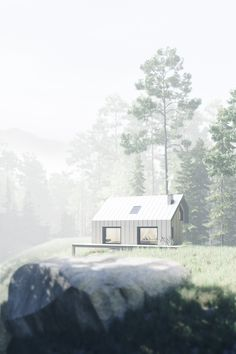 shelter in the forest on Behance