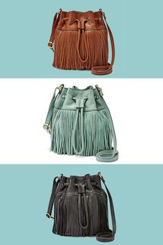 Our favorite Coachella accessory has it all. Fun fringe, easy crossbody functionality and swoon-worthy festival style.
