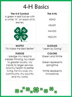 4-h Pledge And Motto Related Keywords & Suggestions - 4-h Pledge ...