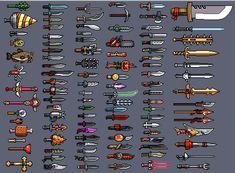 Game Concept Art, Weapon Concept Art, Easy Pixel Art, Arte 8 Bits, Minecraft Images, Pixel Characters, 8 Bit Art, Military Drawings, Pixel Art Games