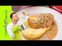 Кролик, тушеный в горчично-сливочном соусе - простой рецепт - праздничны...