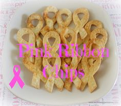 Pink Ribbon Tortilla Chips. Being a Survivor myself I made these to celebrate Breast Cancer Awareness Month..Check out the recipe! Just a little paprika,chili powder, butter and voila!