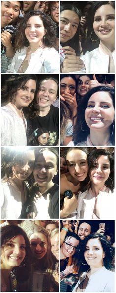 March 29, 2018: Lana Del Rey with fans in Brisbane, Australia #LDR #LA_to_the_Moon_Tour