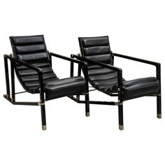 Pair of Eileen Gray Transit Chairs | 1stdibs.com