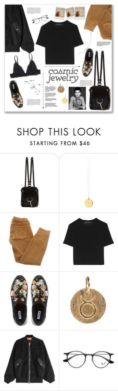 """taur"" by theotherjoanne ❤ liked on Polyvore featuring Chloé, Catherine Zoraida, Current/Elliott, Proenza Schouler, Dune, Pernille Corydon, Alexander Wang, Ray-Ban and Monki"
