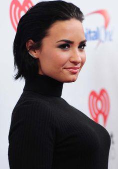 Demi Lovato at iHeartRadio's Jingle Ball 2015 | 12/11/15.