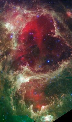 Star-forming region W5 . Courtesy of NASA/JPL-Caltech