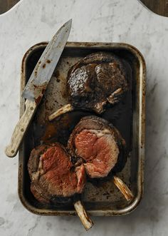 Love the way this shot looks so simple. But meat is a tough one to shoot so well. (Photo: John Cullen)