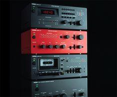 design-is-fine: Hartmut Esslinger, Wega Modul Wega Radio GmbH, Germany. Via frogdesign Hi Fi System, Audio Design, Speaker Design, Stereo Amplifier, Hifi Stereo, Audio Room, Audio Sound, Music System, High End Audio