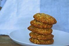 Thick and Chewy Oatmeal Chocolate Chip Cookies - from Gluten Free on a Shoestring