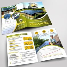 Solar Brochure Mailer by zenefashions