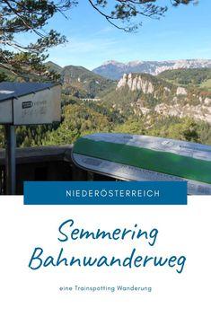 Eine Trainspotting Wanderung auf 21 Kilometern rund um Viadukte, pfeifende Züge und herrlichen Ausblicken. Streckenbeschreibung und Tipps für den Bahnwanderweg zwischen Semmering und Payerbach. #SemmeringWandern #ÖsterreichSchönsteOrte #ÖsterreichUrlaub #ÖsterreichWandern #ÖsterreichUrlaubSommer #NiederösterreichAusflug #Niederösterreich #ÖsterreichAusflugsziele #AusflügeÖsterreich #AusflugszieleinÖsterreich #Semmeringwandern #Semmeringbahn #WanderninNiederösterreich #WandertippsÖsterreich London, Desktop Screenshot, Europe, Day Trips, Road Trip Destinations, Beautiful Places, Round Round, London England