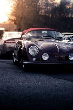 Cool-life in a Porsche 356 Cabriolet Ferdinand Porsche, Maserati, Ferrari, Lamborghini, Luxury Sports Cars, Sport Cars, Porsche Autos, Porsche Cars, Vintage Porsche