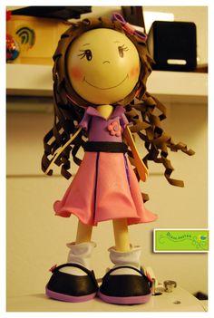 Biauu.design: A minha 1ª Boneca em Eva