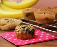 Banana Blueberry Paleo Muffins  @Multiply Delicious