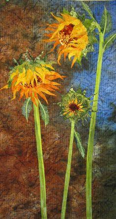 Barbara Strobel Lardon Art quilts: Machine Quilting