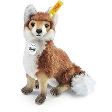 Steiff 033476 Foxy Fuchs, 17 cm,  Mohair, rotbraun