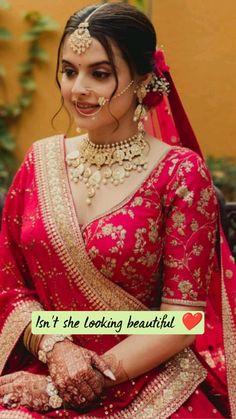 Wedding Looks, Wedding Bride, Bouquet Wedding, Wedding Nails, Wedding Reception, Punjabi Bride, Top Wedding Photographers, Indian Bridal Fashion, Insta Look