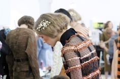 Rodarte Fall 2012 backstage