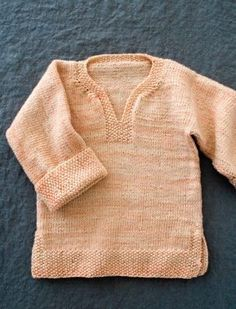 Easy Pullover for Babies, Toddlers + Kids. Now in Three New Sizes! free pattern| Purl Soho