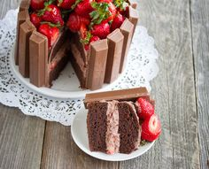 I will make this only with white cake then use chocolate and white cool whip alternating between the two!