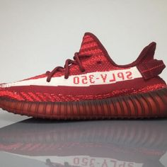 the latest 098c6 f776f Adidas Yeezy Boost 350V2 Real Boost Wine Red DA956801