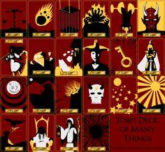 12 Beste Afbeeldingen Van Deck Of Many Things Deck Of Many Things