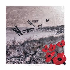 Below The Brave, The Poppies Grow by Remembrance Artist Jacqueline Hurley ~ Limited Edition Signed Giclée Print ~ War Poppy Art Remembrance Day Quotes, Remembrance Day Poppy, Ww1 Art, Original Art, Original Paintings, Poppies Tattoo, Military Art, Brave, Art Reproductions