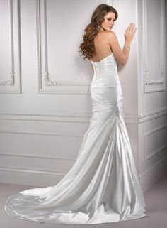 Deidre - Bridal Gown by Maggie Sottero (back)