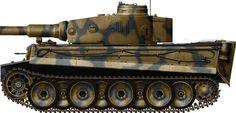 1-SS-PzDiv, Kharkov 1943, Ausf. E, early type, 1st SS Panzerdivision, Kharkov, May 1943.
