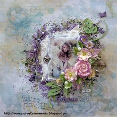 ''Special Days''         Hello 2crafty fans!     Mary here with you today and I have to share with you all, a special  romantic layout an...