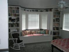 Built In Bookcases Window Seat W Storage