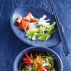 Japanischer Lauchsalat Rezept | Küchengötter