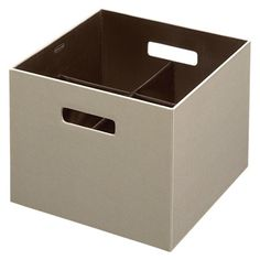 "Rubbermaid Bento Large Storage Box with Pop-out Dividers. Lids available also. 12.05"" square x 9.65""H - $17.99"