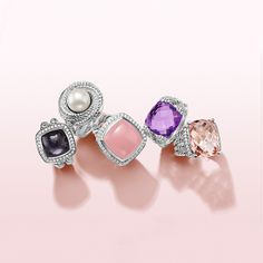 This Valentine's Day, show your devotion with a stunning ring featuring her favorite gemstone.