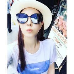 Kpop Snaps! | BoA (boakwon) on instagram - ☀️☀️ 기분이.. 딱.. #nomatterwhat 구름 이쁘고~ 날씨좋고~ 내표정은 #더워