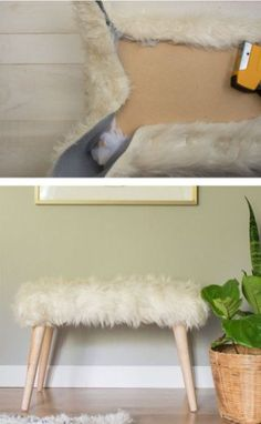 26 Remarkable DIY Project and Ideas to Improve Your Home Decor Diy Furniture Chair, Paint Furniture, Diy Home Decor Projects, Diy Home Crafts, Banco Ikea, Diy Cabinets, Decoration, Living Room Designs, Modern Decor