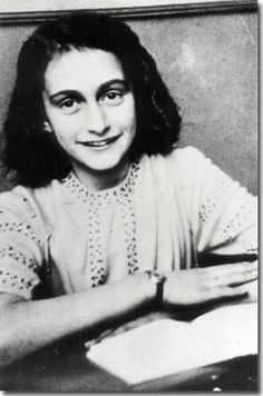 Despite everything, I believe that people are really good at heart.  Anne Frank