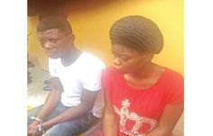 Girl Arranges Her Own Kidnap WIth Her Boyfriend    A 22-year-old lady Grace Igwe who lives with her parents at 19 Agulu Street Umuahia Abia State has reportedly organised her own abduction with her boyfriend Sunday Bright.  Igwe and Bright were yesterday paraded by the state Commissioner of Police Mr. Leye Oyebade. Bright according to Oyebade is from Esan North Edo State.  He was arrested in connection with the abduction of the lady after she was reported missing by her father Obinna Igwe on…