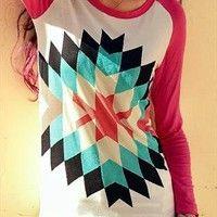 Geometrical Pattern shirt